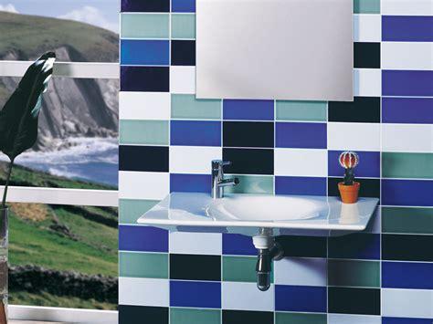 azulejos para ba o modernos gresite ba 241 os revestimientos que crean ambientes
