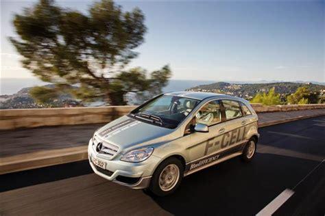 Brennstoffzellenauto Mercedes by Brennstoffzellenauto Mercedes B Klasse F Cell Stellt
