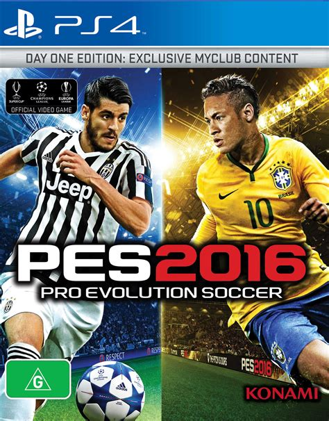 Xbox One 2016 Pro Evolution Soccer 2016 pro evolution soccer 2016 day one edition playstation 4