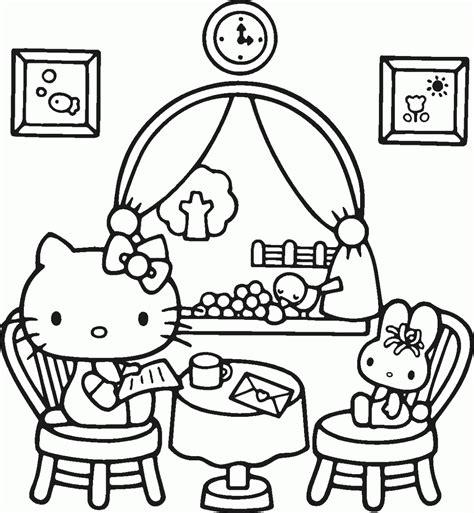 dibujos para pintar de hello kitty dibujos para colorear