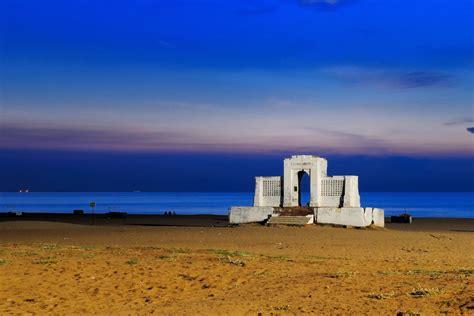 visit marina beach    view  chennai