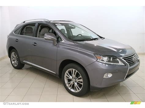 lexus gray 2014 nebula gray pearl lexus rx 450h awd 119135450 photo