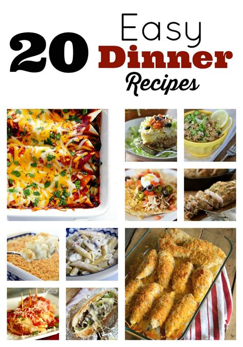 easy entree recipes dinner meals in minutes easy dinner recipes skip to my lou