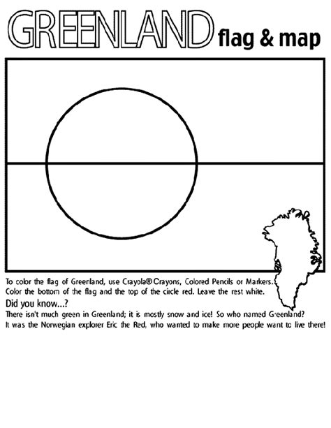 greenland map coloring page greenland free colouring pages