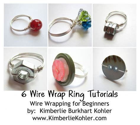 how to make rings out of wire and ring emerging creatively jewelry tutorials