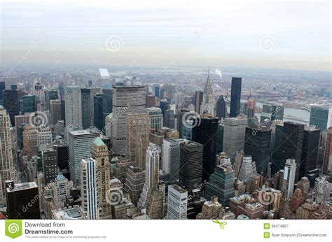 Landscape Architecture License New York New York City Aerial Landscape Royalty Free Stock