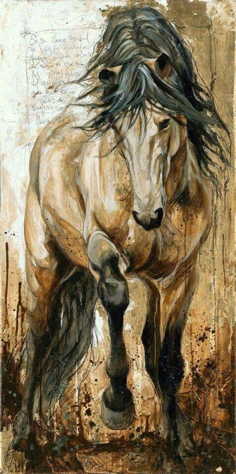 painting horses by elise genest