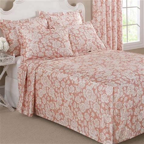 Lightweight King Bedspread Floral Grace Lightweight Fitted Bedspread