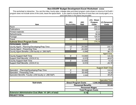 best photos of church budget worksheet free church