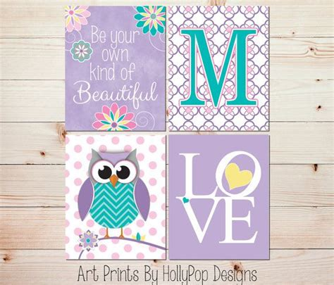 owl decorations for bedrooms nursery wall art girls room decor girl owl art girl