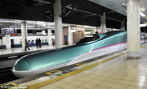 fast in japanese hayabusa the new luxury 186mph japanese bullet train that