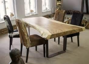 tisch aus tisch aus einem baumstamm der tischonkel