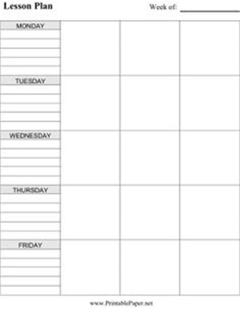 blank unit plan template microsoft office calendar