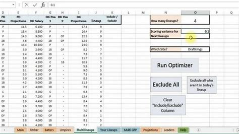 Baseball Statistics Spreadsheet by Baseball Stats Spreadsheet Buff
