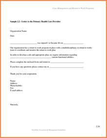 return work letter template return to work letter marital settlements information