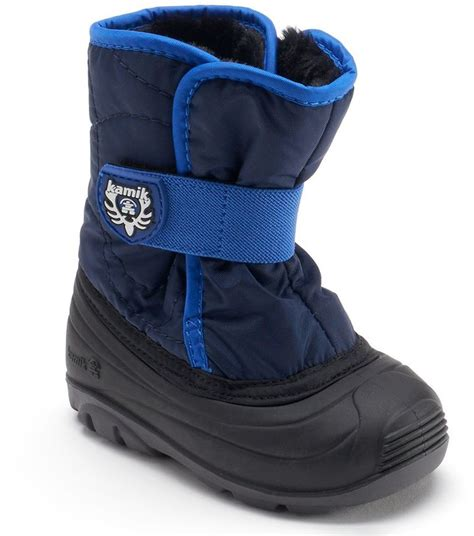 toddler boys winter boots kamik snowbug3 toddler boys waterproof winter boots