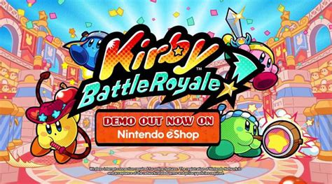 Nintendo 3ds Kirby Battle Royale kirby battle royale demo now available for 3ds in europe