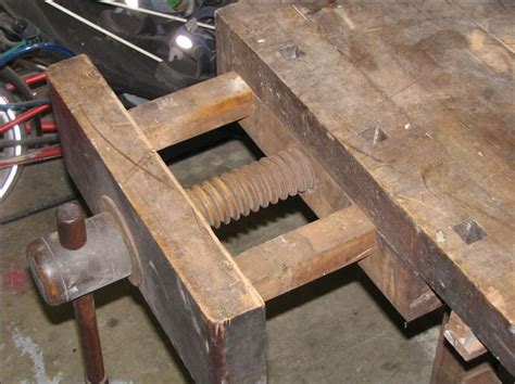design front  leg vise woodworking stack exchange
