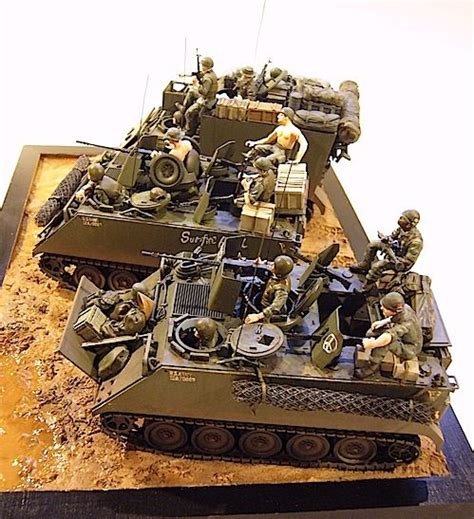 Joger Army Navy 1 m113 m577 1 35 dioramas dioramas scale models and models