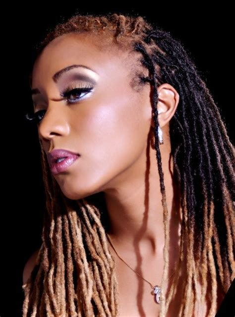 colored locs pin by armah on locs of color