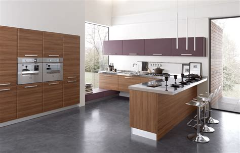 Square Kitchen Designs Square Modern Kitchen Design Stylehomes Net