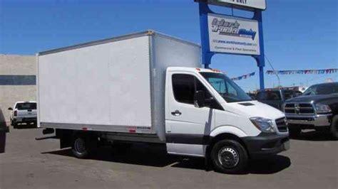 mercedes truck 2014 mercedes 3500 sprinter 14 foot box truck 2014