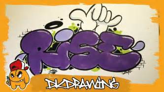 graffiti tutorial   draw rise graffiti bubble style