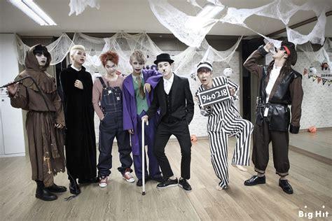 kpop themed costume picture fb starcast bangtan room halloween chapter