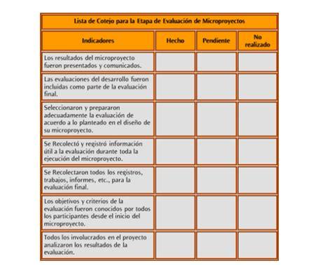 lista final de directores y subdirectores aptos para el examen instrumentos de evaluacion modelo de lista de cotejos