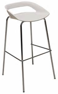 modern white bar stools 34 quot h modern white bar stool