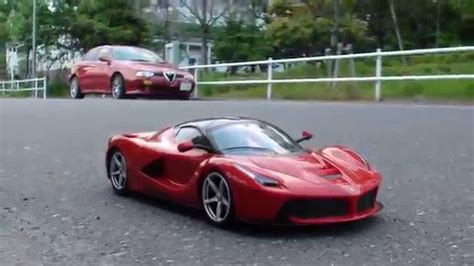 Ferrari R C by La Ferrari Rc 1 14 Alfa V6 Sound Fake V12 Youtube