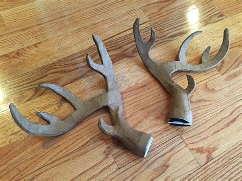 How To Make Paper Mache Antlers - foam board deer antlers manning makes stuff