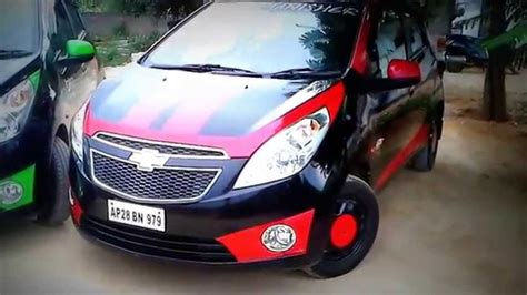 Modified Beat Car by Chevrolet Beat Modified Hyderabad The Crew