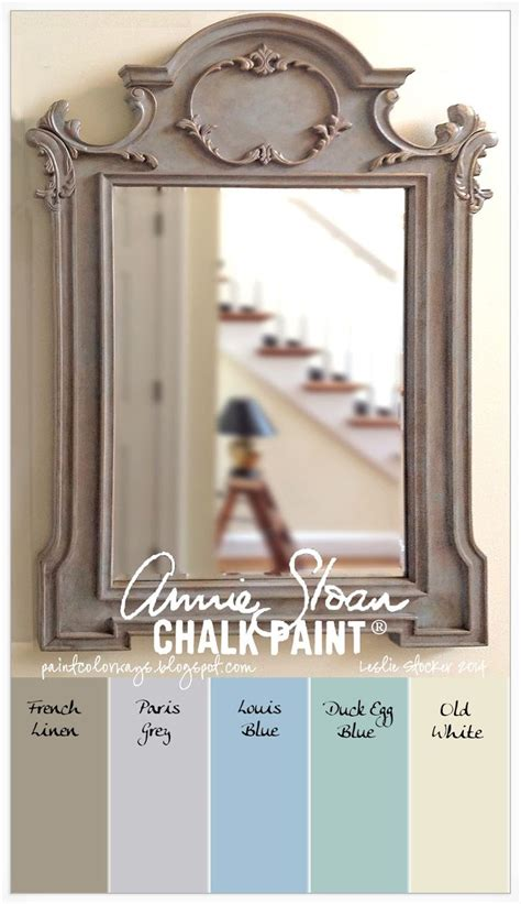 chalk paint mirror colorways sloan chalk paint 174 frenchlinen grey