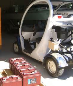 Gem Battery Electric Vehicles Golf Cart Battery San Clemente