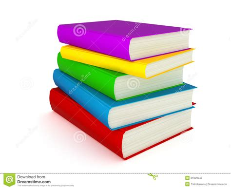 3d picture books 3d books stock photography image 31029042