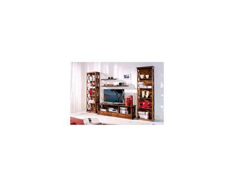 libreria legno massello libreria a giorno legno massello estea mobili