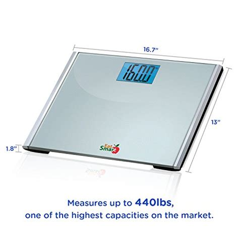 eatsmart precision plus digital bathroom scale with ultra