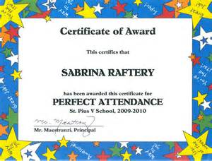 100 Attendance Certificate Template by Certificates Of Attendance Templates Free Studio