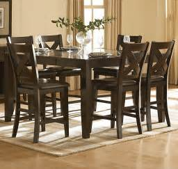 dining room counter height sets homelegance crown point 5 piece counter height dining room