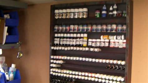 diy hobbies diy hobby paint rack part 4 chipping wash varnish