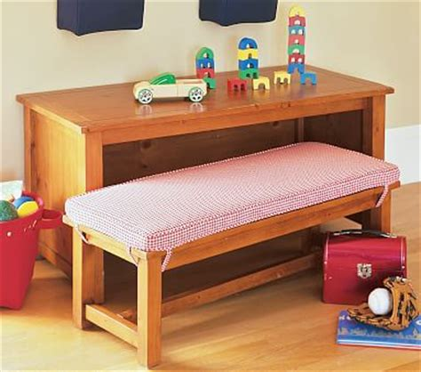 kids bench cushion cameron table bench cushion pottery barn kids