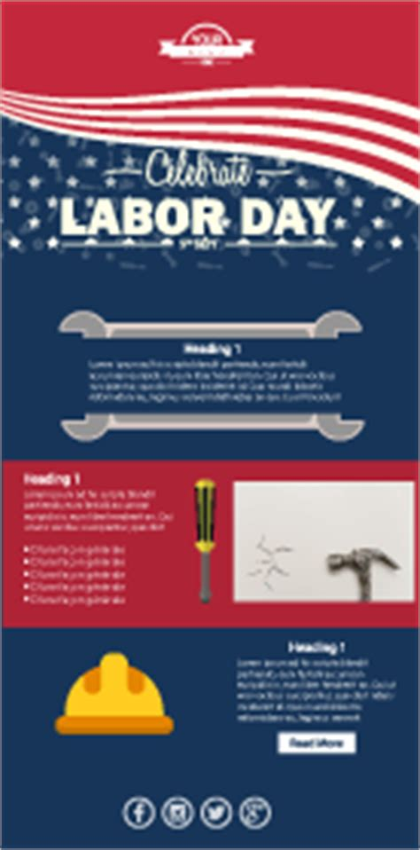 Labor Day Email Template New Labor Day Email Templates And 7 Tips For Labor Day Email Blasts