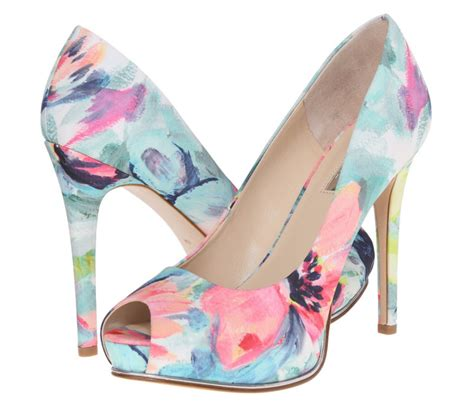 flower shoes with heels floral pumps are 2016 s shoe trend high heels daily