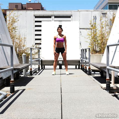 traveling squat hops exercise   workout trainer
