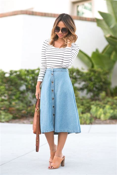 17 best ideas about midi skirts on modest