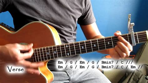 guitar tutorial video games how to play quot video games quot lana del rey guitar tutorial
