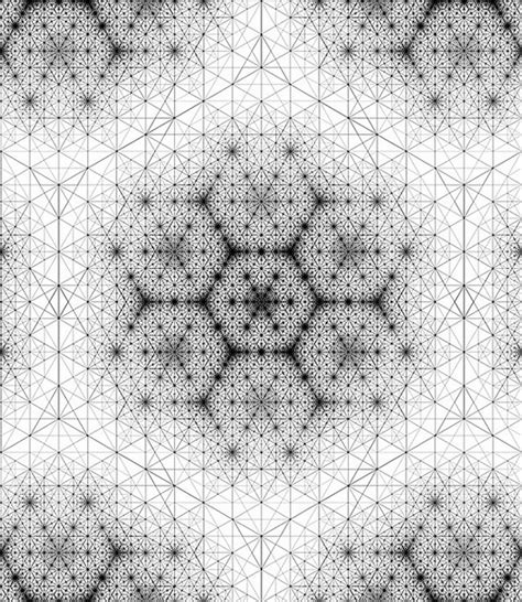 texture pattern recognition grid 6 sacred geometry