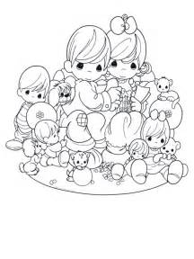 Free Printable Precious Moments Coloring Pages For Kids sketch template
