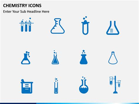 chemistry icons powerpoint template sketchbubble